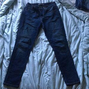Dark wash Levi jeans